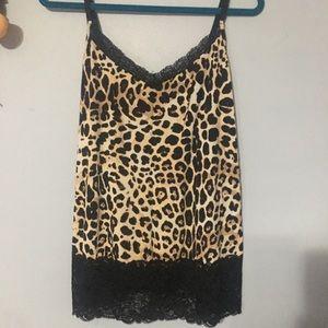 Lane Bryant Cheetah Print Cami 14/16